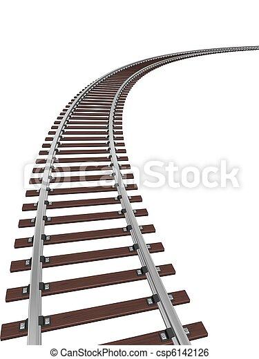 トラック, 列車 - csp6142126