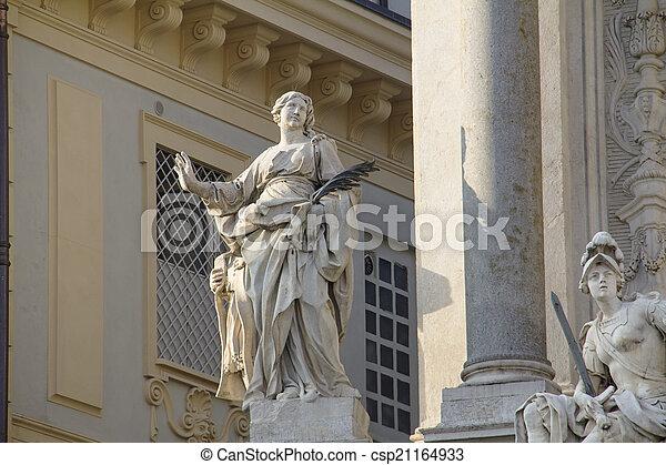トリノ, 彫像 - csp21164933