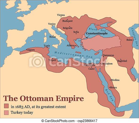 地図 オスマン 帝国