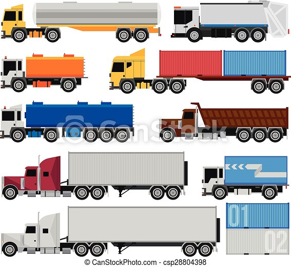 トレーラー, トラック - csp28804398