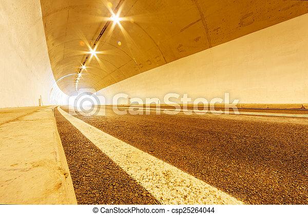 トンネル, ライト - csp25264044
