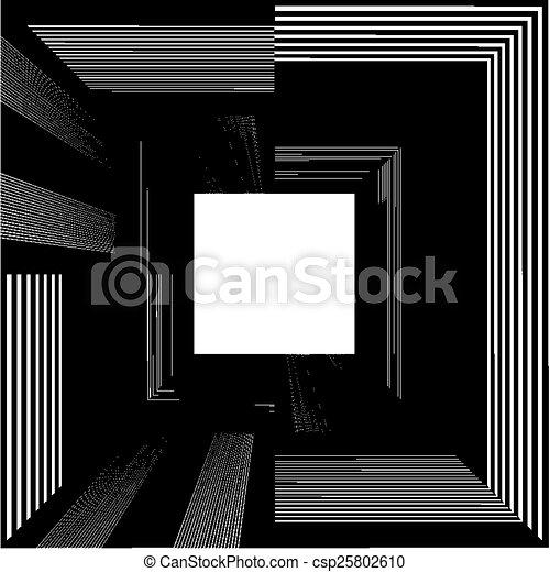 トンネル, 端, ライト - csp25802610