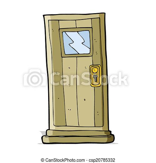 ドア, 漫画 - csp20785332