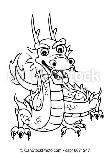 ドラゴン - csp16871247