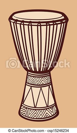 ドラム, アフリカ - csp15246234