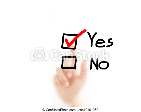ドロー, ビジネス, いいえ, 決定, ∥あるいは∥, 図, 人, スクリーン, 背景 - csp10161089