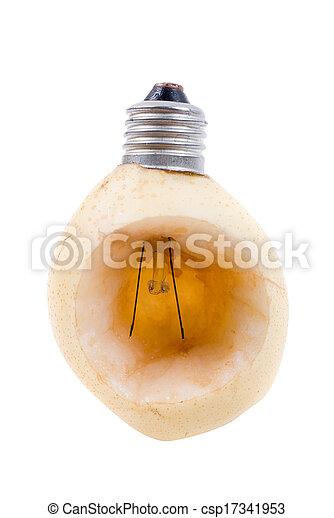 ナシ, 電球 - csp17341953