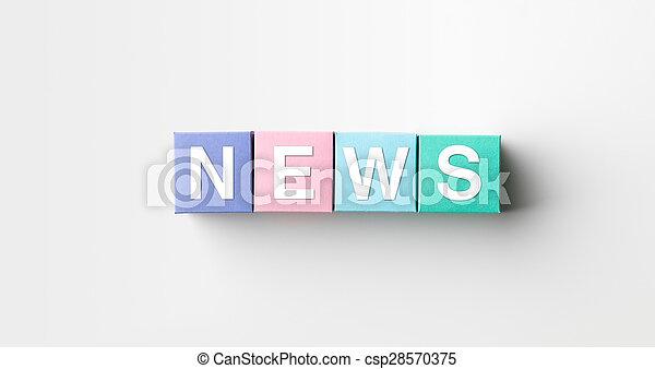 ニュース - csp28570375