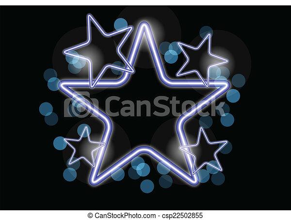 ネオン, 星 - csp22502855