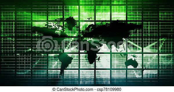 ネットワーク, 世界的である - csp78109980