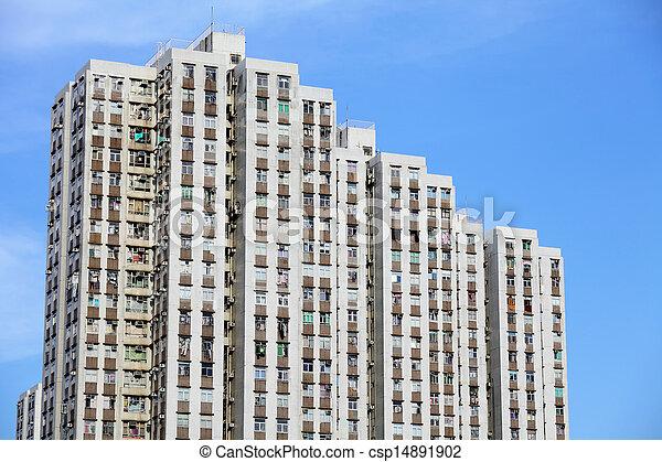 ハウジング, 公衆, 香港 - csp14891902