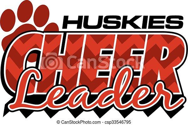 ハスキー, チアリーダー - csp33546795