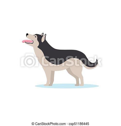ハスキー ベクトル Siberian イラスト 犬 Siberian イラスト 犬