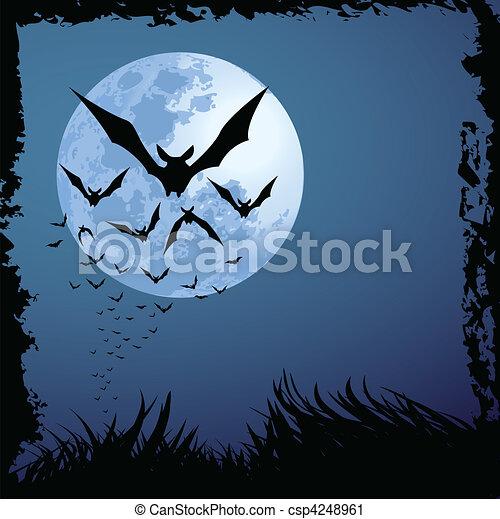 ハロウィーンの夜 - csp4248961