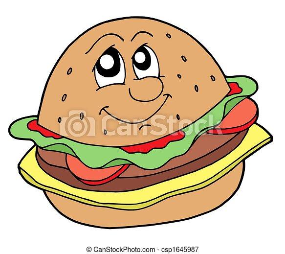 ハンバーガー - csp1645987