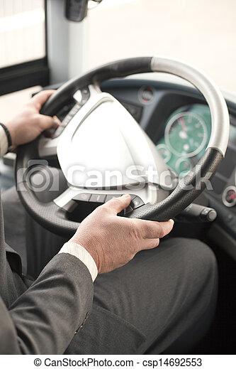 バスの運転手 - csp14692553