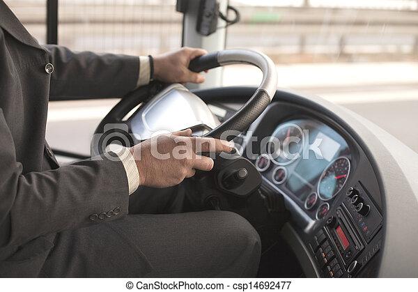 バスの運転手 - csp14692477