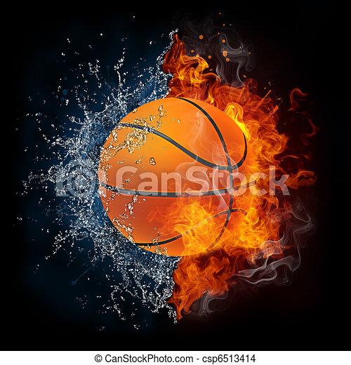 バスケットボールボール - csp6513414