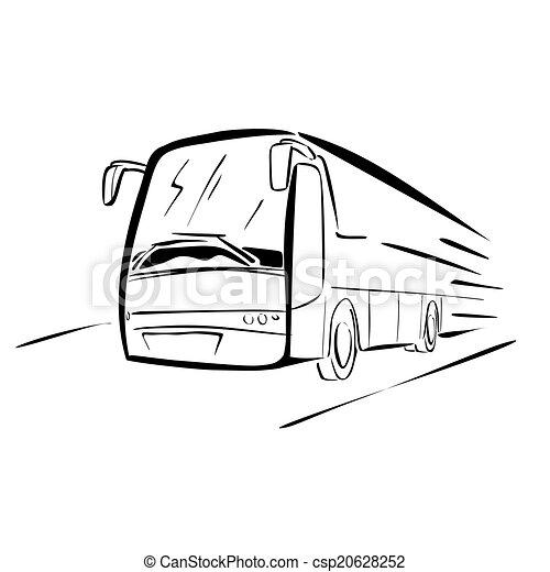 バス, スケッチ - csp20628252