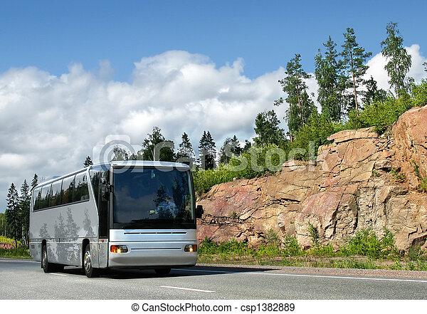バス, ハイウェー - csp1382889