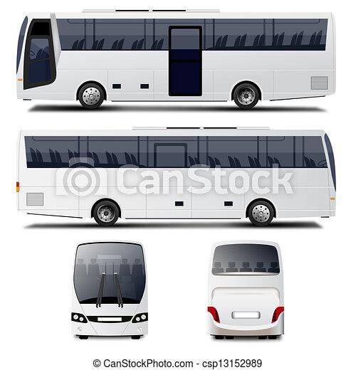 バス, ベクトル - csp13152989