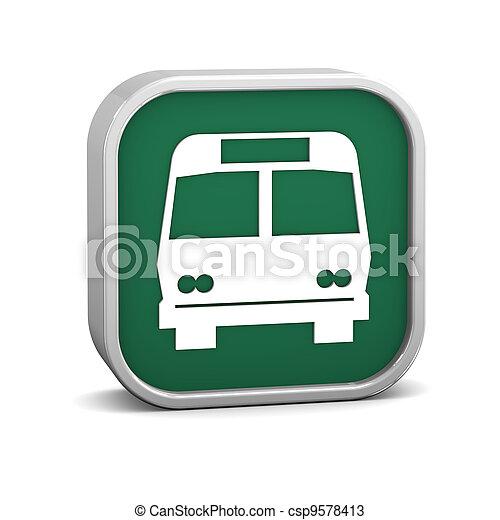 バス, 印 - csp9578413
