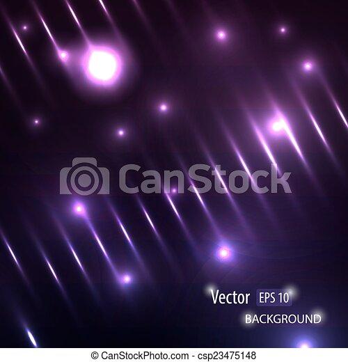バックグラウンド。, ベクトル, 現代, ライト, 照ること - csp23475148