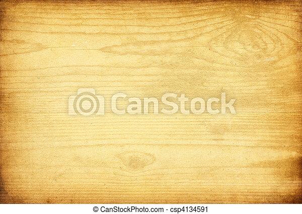 バックグラウンド。, 木, 古い, 手ざわり - csp4134591