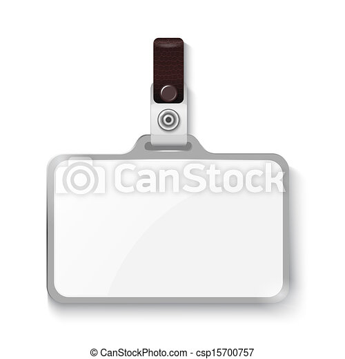 バッジ, プラスチック - csp15700757