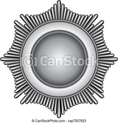バッジ, 銀 - csp7507923
