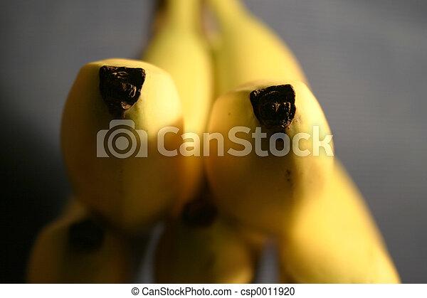 バナナ, 細部 - csp0011920
