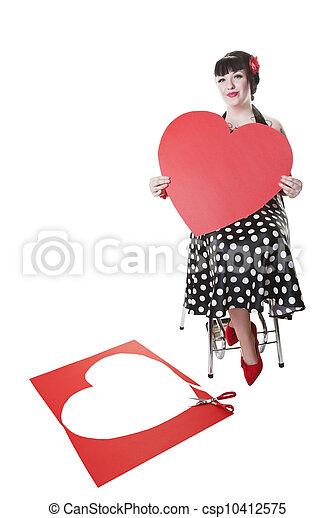 バレンタイン, pinup - csp10412575