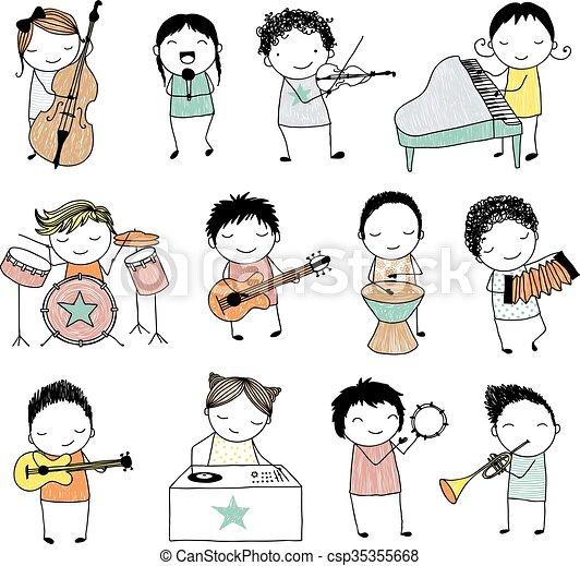 バンド ミュージカル かわいい 別 子供 道具 コレクション 遊び いたずら書き ミュージカル