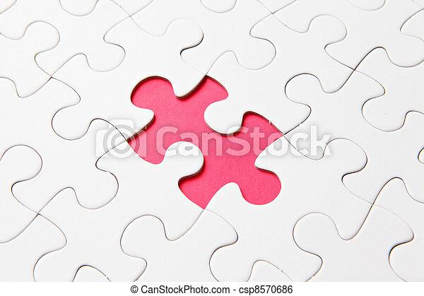 パズル小片, 欠けている - csp8570686