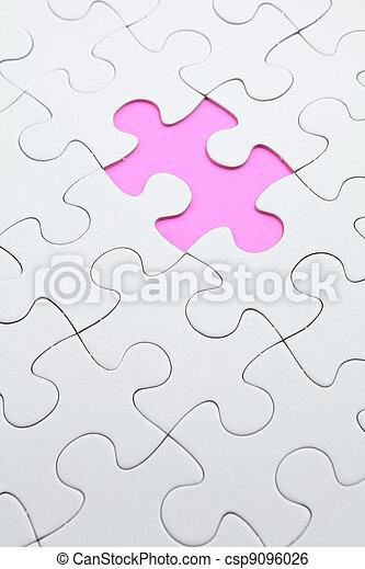 パズル小片, 欠けている - csp9096026