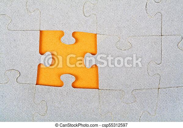パズル小片, 欠けている - csp55312597