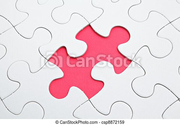 パズル小片, 欠けている - csp8872159