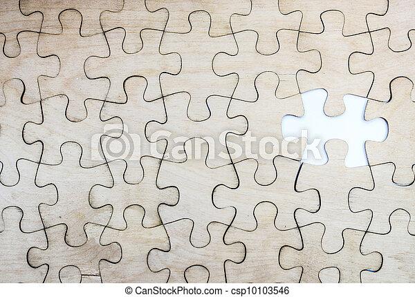 パズル小片, 欠けている - csp10103546