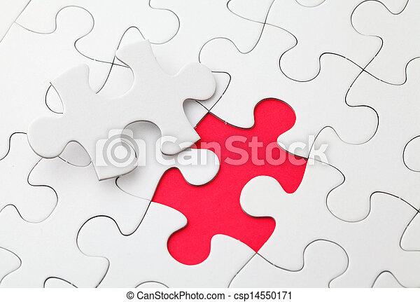 パズル小片, 欠けている - csp14550171