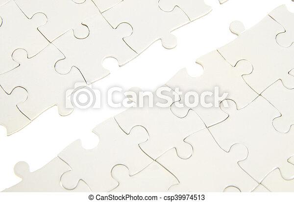 パズル小片, 欠けている - csp39974513