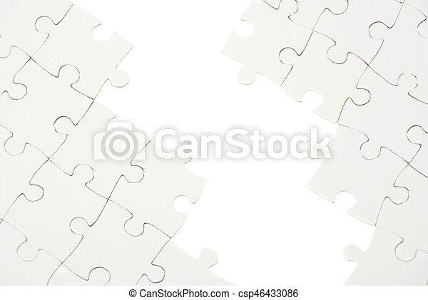 パズル小片, 欠けている - csp46433086