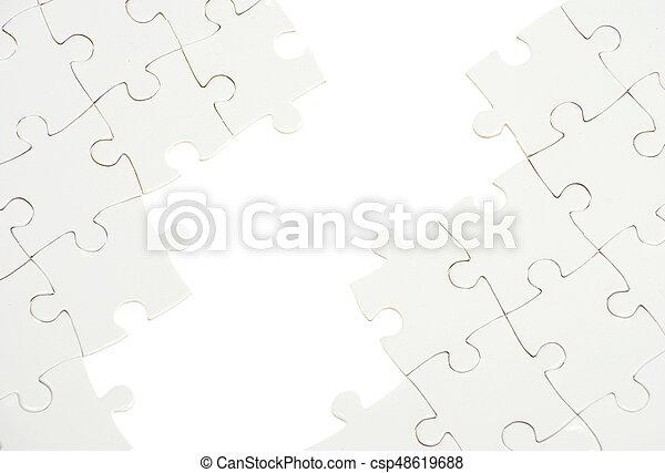 パズル小片, 欠けている - csp48619688