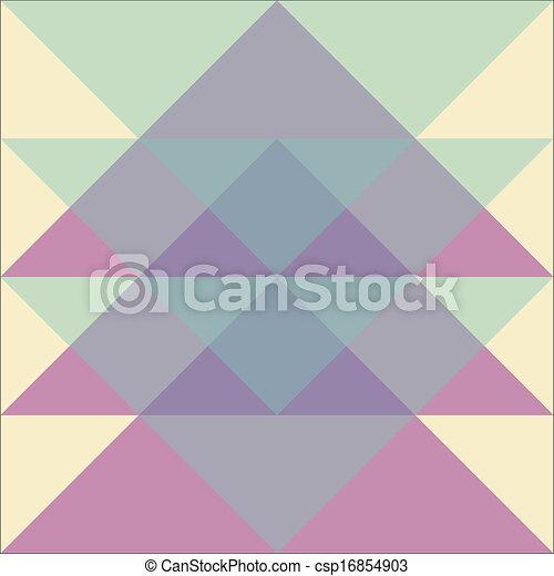 パターン, 幾何学的 - csp16854903