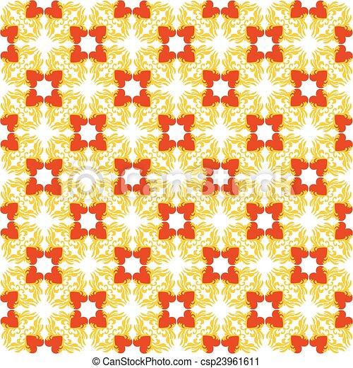 パターン, 心 - csp23961611