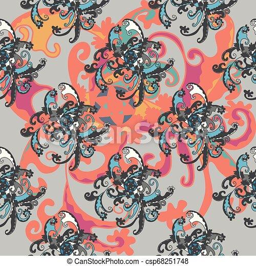 パターン, 抽象的なデザイン, あなたの - csp68251748