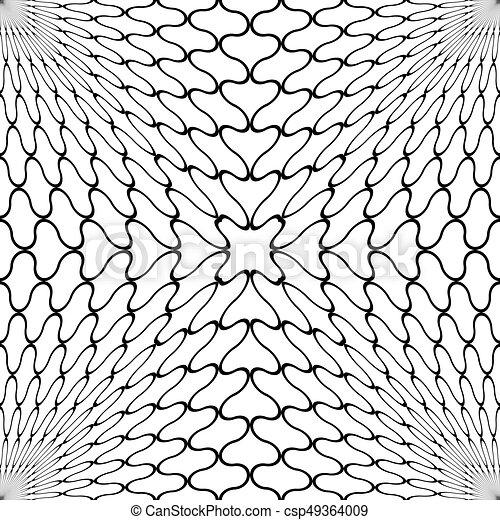パターン, 格子, seamless - csp49364009