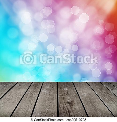 パターン, 泡, 部屋, カラフルである - csp20519798