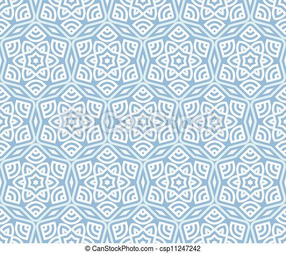 パターン, 現代, 装飾, seamless, 背景, 民族, 幾何学的 - csp11247242