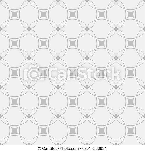 パターン, 白, 黒, seamless, 幾何学的 - csp17583831