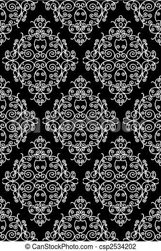 パターン, 細工された鉄 - csp2534202